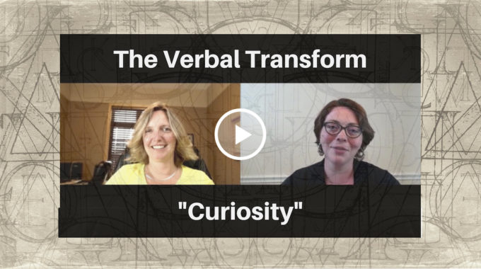 "From ""The Verbal Transform"" –  Jennifer Thompson On ""Curiosity"""